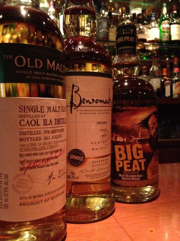 ウイスキー三種類入荷!